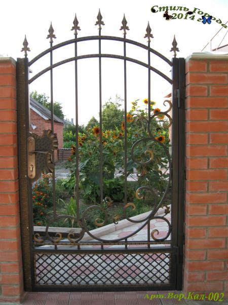 Ворота и Калитки - 002