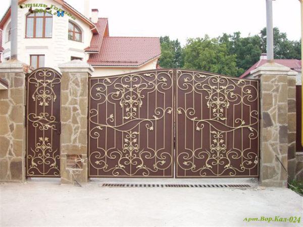 Ворота и Калитки - 024