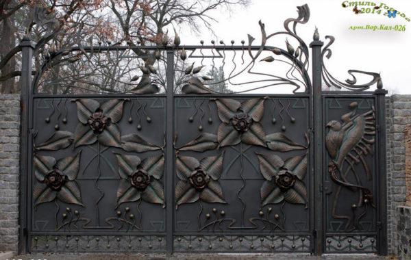 Ворота и Калитки - 026