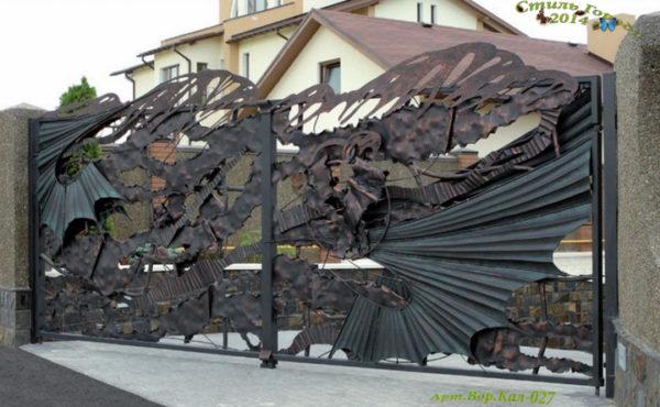 Ворота и Калитки - 027