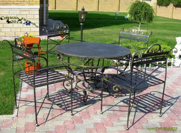 Садовая мебель - 022