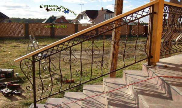 Лестницы и перила-018