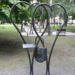 Creation blacksmiths in park Donetsk